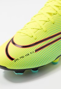 Nike Performance - MERCURIAL VAPOR 13 ACADEMY FG/MG - Korki Lanki - lemon/black/aurora green - 5
