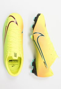 Nike Performance - MERCURIAL VAPOR 13 ACADEMY FG/MG - Korki Lanki - lemon/black/aurora green - 1
