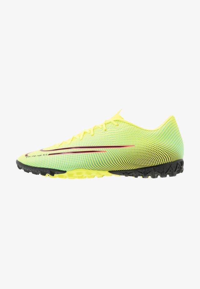 MERCURIAL VAPOR 13 ACADEMY TF - Voetbalschoenen voor kunstgras - lemon/black/aurora green
