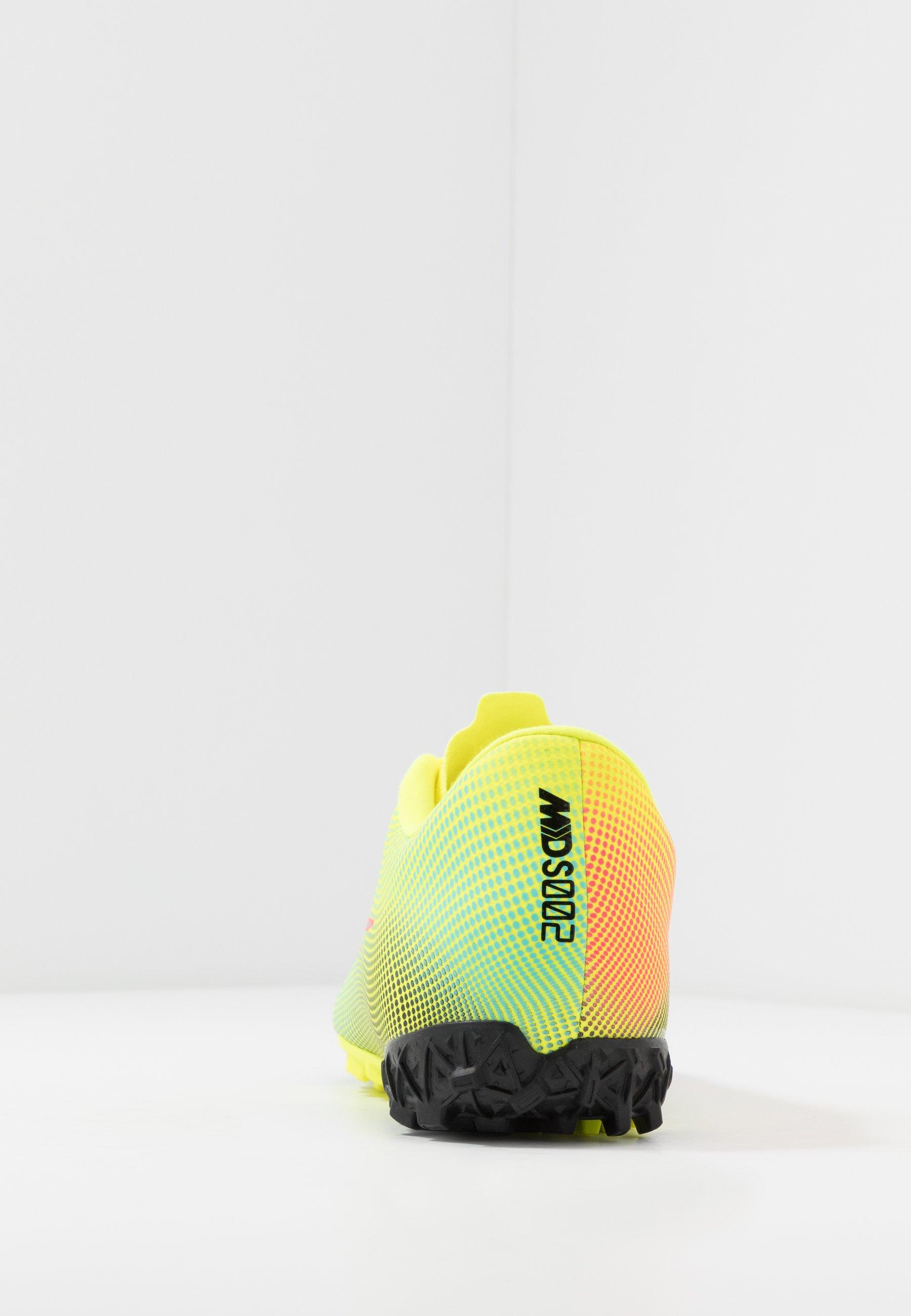 MERCURIAL VAPOR 13 ACADEMY TF Chaussures de foot multicrampons lemonblackaurora green