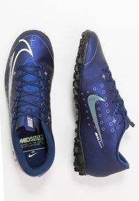 Nike Performance - MERCURIAL VAPOR 13 ACADEMY TF - Botas de fútbol multitacos - blue void/metallic silver/white/black - 1