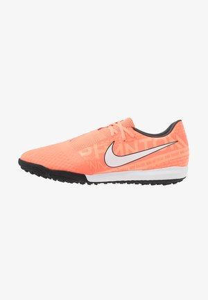 PHANTOM ACADEMY TF - Botas de fútbol multitacos - bright mango/white/orange/anthracite
