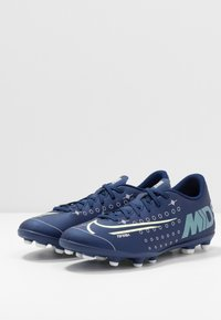 Nike Performance - MERCURIAL VAPOR 13 CLUB FG/MG - Chaussures de foot à crampons - blue void/metallic silver - 2