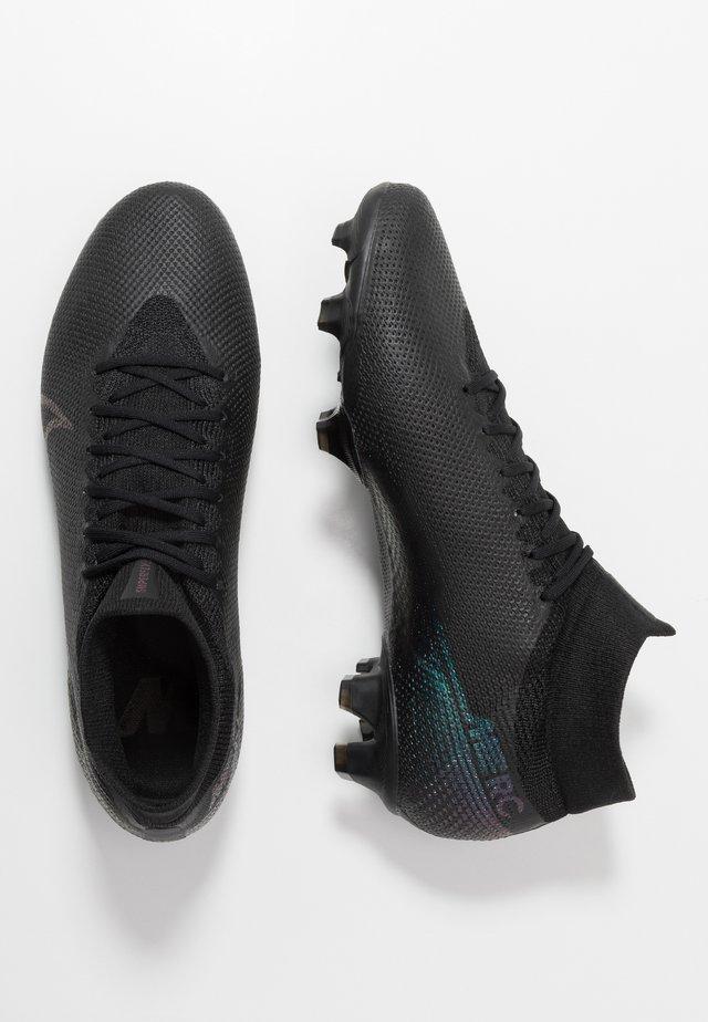 MERCURIAL 7 PRO FG - Voetbalschoenen met kunststof noppen - black