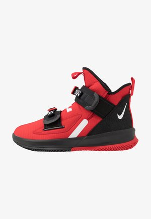 LEBRON SOLDIER XIII - Basketball shoes - university red/white/black