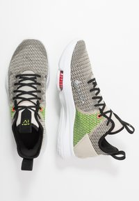 Nike Performance - LEBRON WITNESS IV - Obuwie do koszykówki - string/black/volt/bright crimson/white - 1