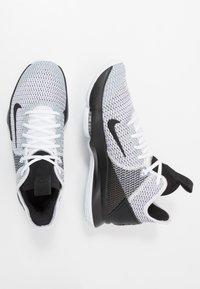 Nike Performance - LEBRON WITNESS IV - Obuwie do koszykówki - white/black - 1