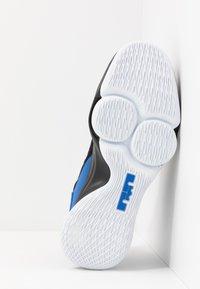 Nike Performance - LEBRON WITNESS IV - Koripallokengät - black/clear/hyper cobalt - 4