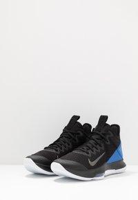 Nike Performance - LEBRON WITNESS IV - Koripallokengät - black/clear/hyper cobalt - 2