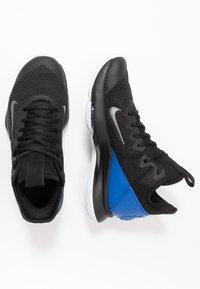 Nike Performance - LEBRON WITNESS IV - Koripallokengät - black/clear/hyper cobalt - 1
