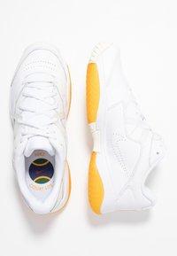 Nike Performance - COURT LITE 2 PRIME QUICK STRIKE - Multicourt tennis shoes - white/amber rise - 3