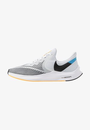 ZOOM WINFLO 6 - Neutral running shoes - pure platinum/black/laser orange/white/university blue