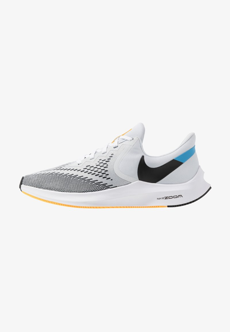 Nike Performance - ZOOM WINFLO 6 - Juoksukenkä/neutraalit - pure platinum/black/laser orange/white/university blue