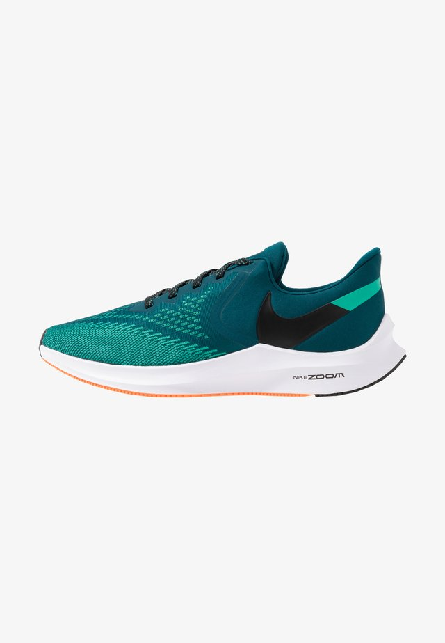 ZOOM WINFLO 6 - Zapatillas de running neutras - midnight turquoise/black/neptune green/hyper crimson/white