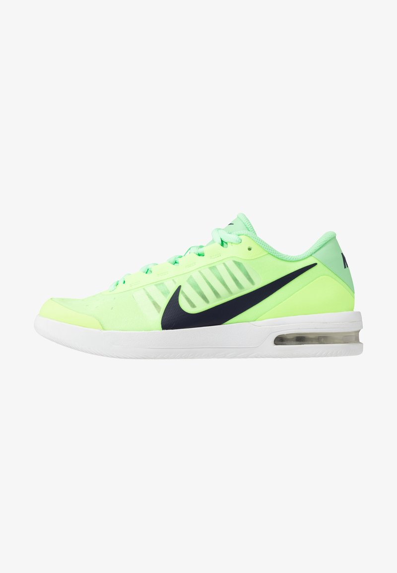 Nike Performance - COURT AIR MAX VAPOR WING MS - Multicourt tennis shoes - ghost green/blackened blue/aphid green