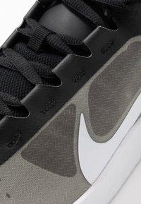 Nike Performance - COURT AIR MAX VAPOR WING MS - Tennisschoenen voor alle ondergronden - black/white/neon turquoise/hot lime - 5