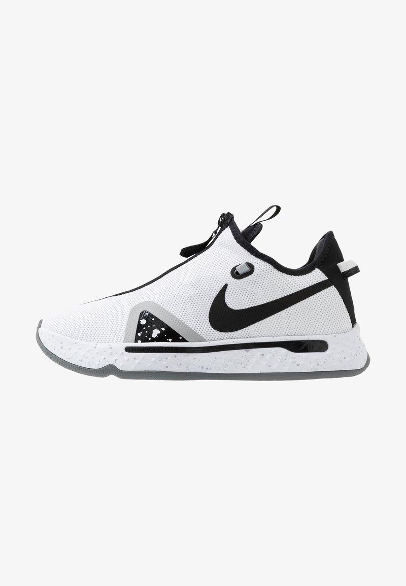Nike Performance - PG 4 - Koripallokengät - white/black/pure platinum