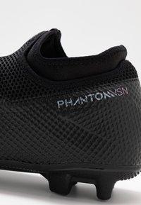 Nike Performance - PHANTOM VISION 2 ACADEMY DF FG/MG - Voetbalschoenen met kunststof noppen - black - 5
