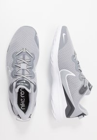 Nike Performance - RENEW RIDE - Neutral running shoes - wolf grey/white/dark grey - 1