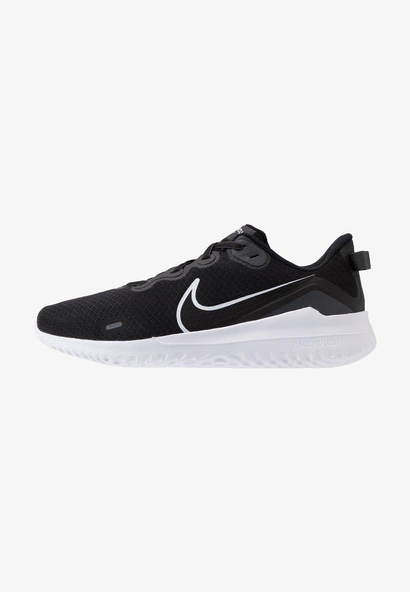 Nike Performance - RENEW RIDE - Nøytrale løpesko - black/white/dark smoke grey