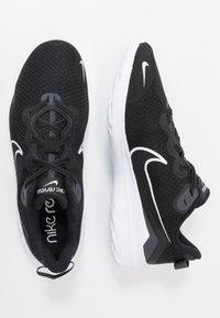 Nike Performance - RENEW RIDE - Nøytrale løpesko - black/white/dark smoke grey - 1