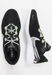 Nike Performance - RENEW RIDE - Juoksukenkä/neutraalit - black/white/ghost green/light smoke grey/dark smoke grey/sapphire - 1
