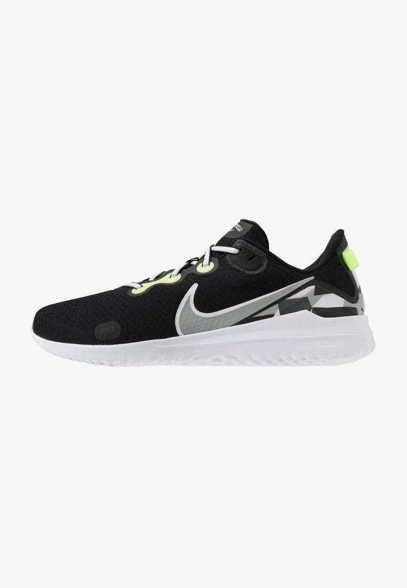 Nike Performance - RENEW RIDE - Juoksukenkä/neutraalit - black/white/ghost green/light smoke grey/dark smoke grey/sapphire