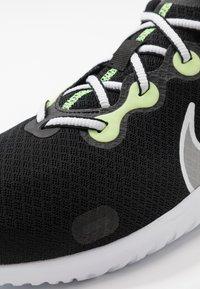 Nike Performance - RENEW RIDE - Juoksukenkä/neutraalit - black/white/ghost green/light smoke grey/dark smoke grey/sapphire - 5