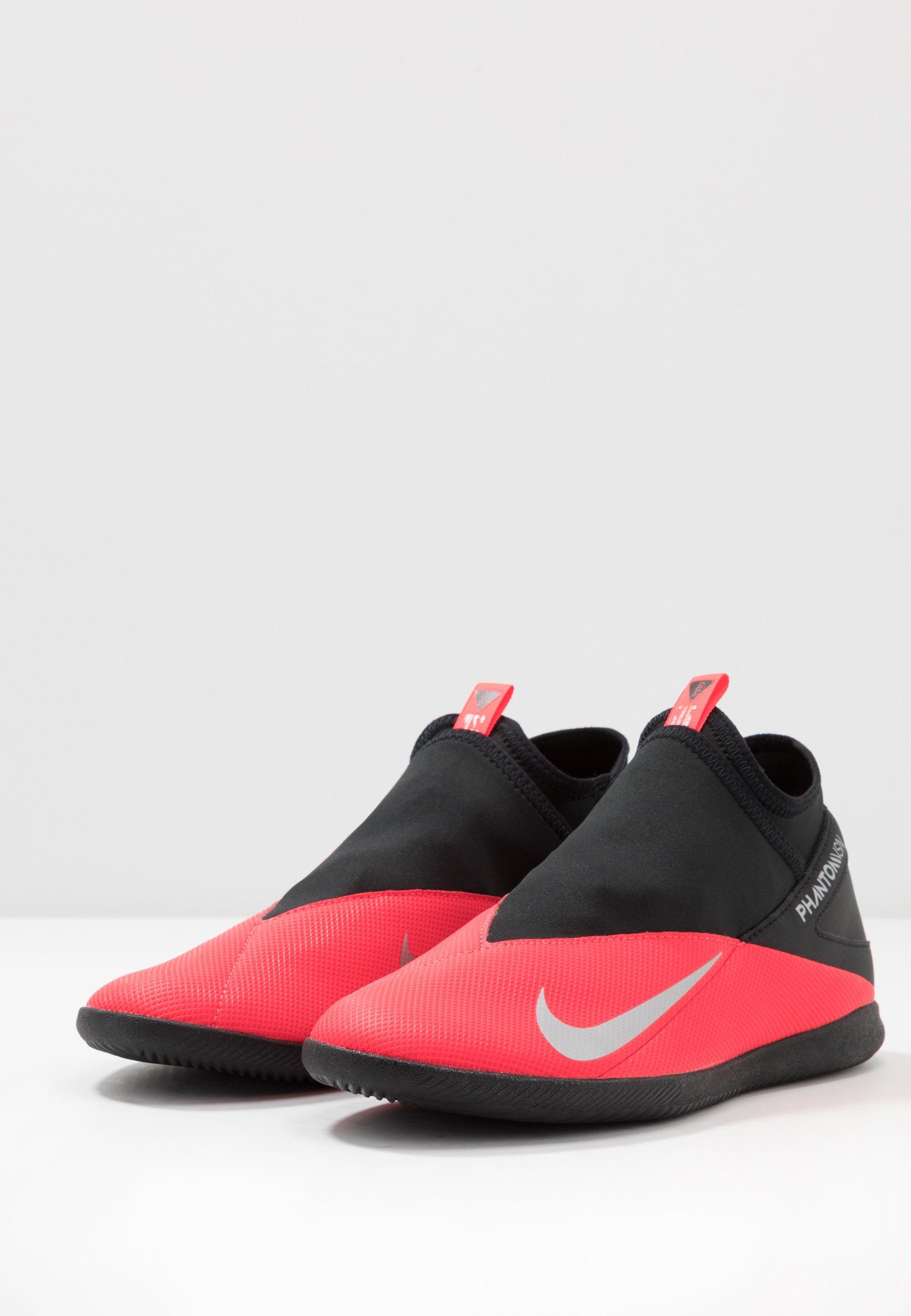 Nike Performance Phantom Vision 2 Club Df Ic - Chaussures De Foot En Salle Laser Crimson/metallic Silver/black