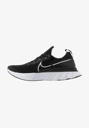 REACT INFINITY RUN FLYKNIT - Zapatillas de running neutras - black/white/dark grey