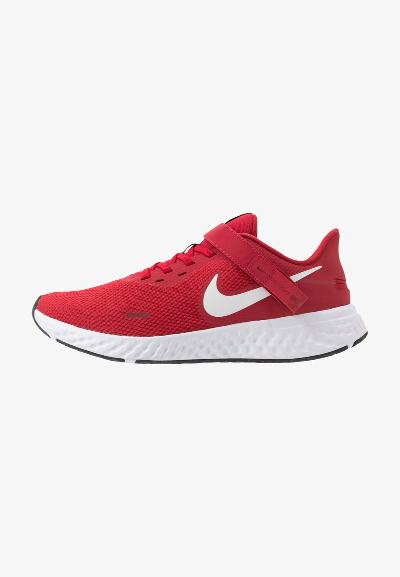 Nike Performance - REVOLUTION 5 FLYEASE - Neutral running shoes - gym red/white/black