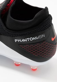 Nike Performance - PHANTOM VISION 2 PRO DF AG-PRO - Voetbalschoenen met kunststof noppen - white/black/laser crimson - 5