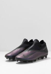 Nike Performance - PHANTOM VISION 2 PRO DF AG-PRO - Voetbalschoenen met kunststof noppen - black - 2