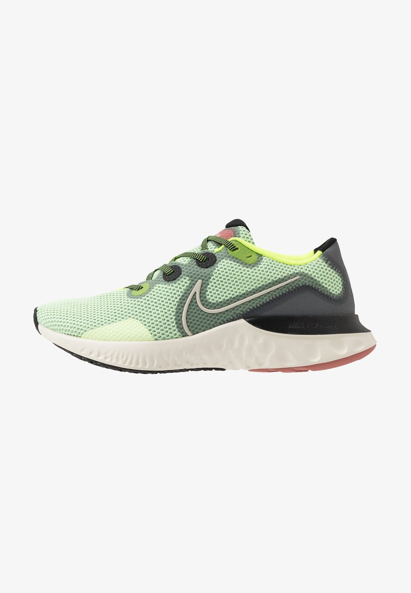 Nike Performance - RENEW  - Juoksukenkä/neutraalit - barely volt/pale ivory/smoke grey/canyon pink/black/volt