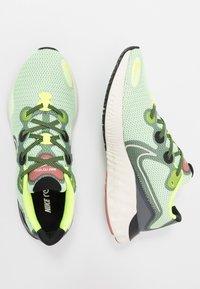 Nike Performance - RENEW  - Juoksukenkä/neutraalit - barely volt/pale ivory/smoke grey/canyon pink/black/volt - 1
