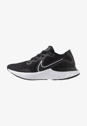 RENEW RUN - Neutral running shoes - black/metallic silver/white/dark smoke grey/particle grey