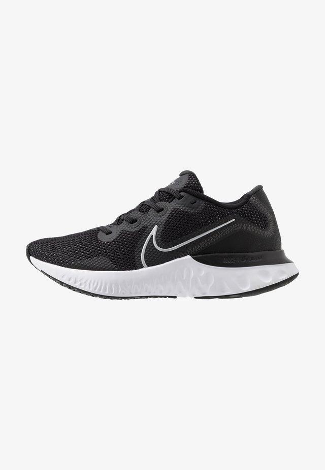 RENEW  - Neutrální běžecké boty - black/metallic silver/white/dark smoke grey/particle grey
