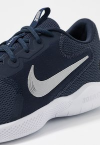 Nike Performance - FLEX EXPERIENCE RUN 9 - Competition running shoes - obsidian/metallic cool grey/black - 5
