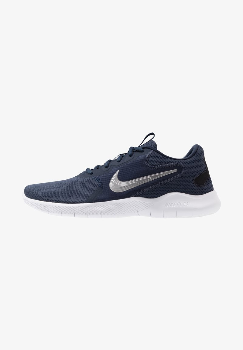 Nike Performance - FLEX EXPERIENCE RUN 9 - Competition running shoes - obsidian/metallic cool grey/black
