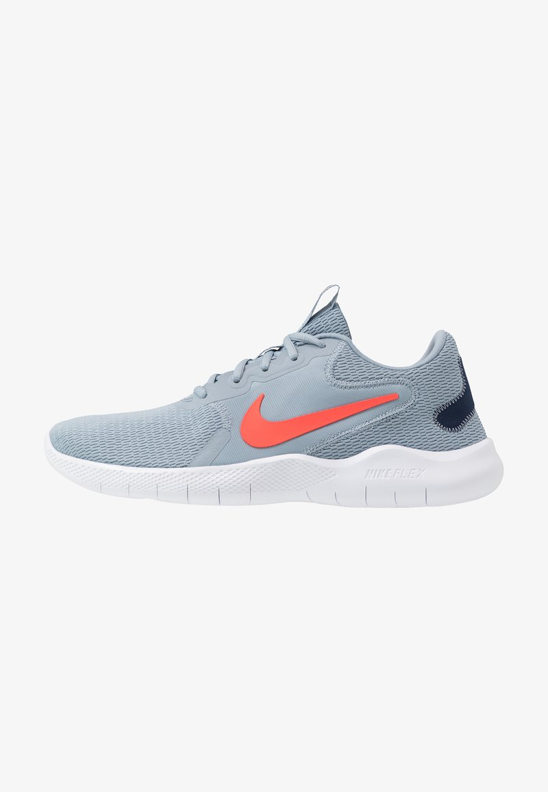 Nike Performance - FLEX EXPERIENCE RUN 9 - Competition running shoes - obsidian mist/bright crimson