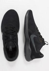Nike Performance - FLEX EXPERIENCE RUN 9 - Hardloopschoenen competitie - black/dark smoke grey - 1