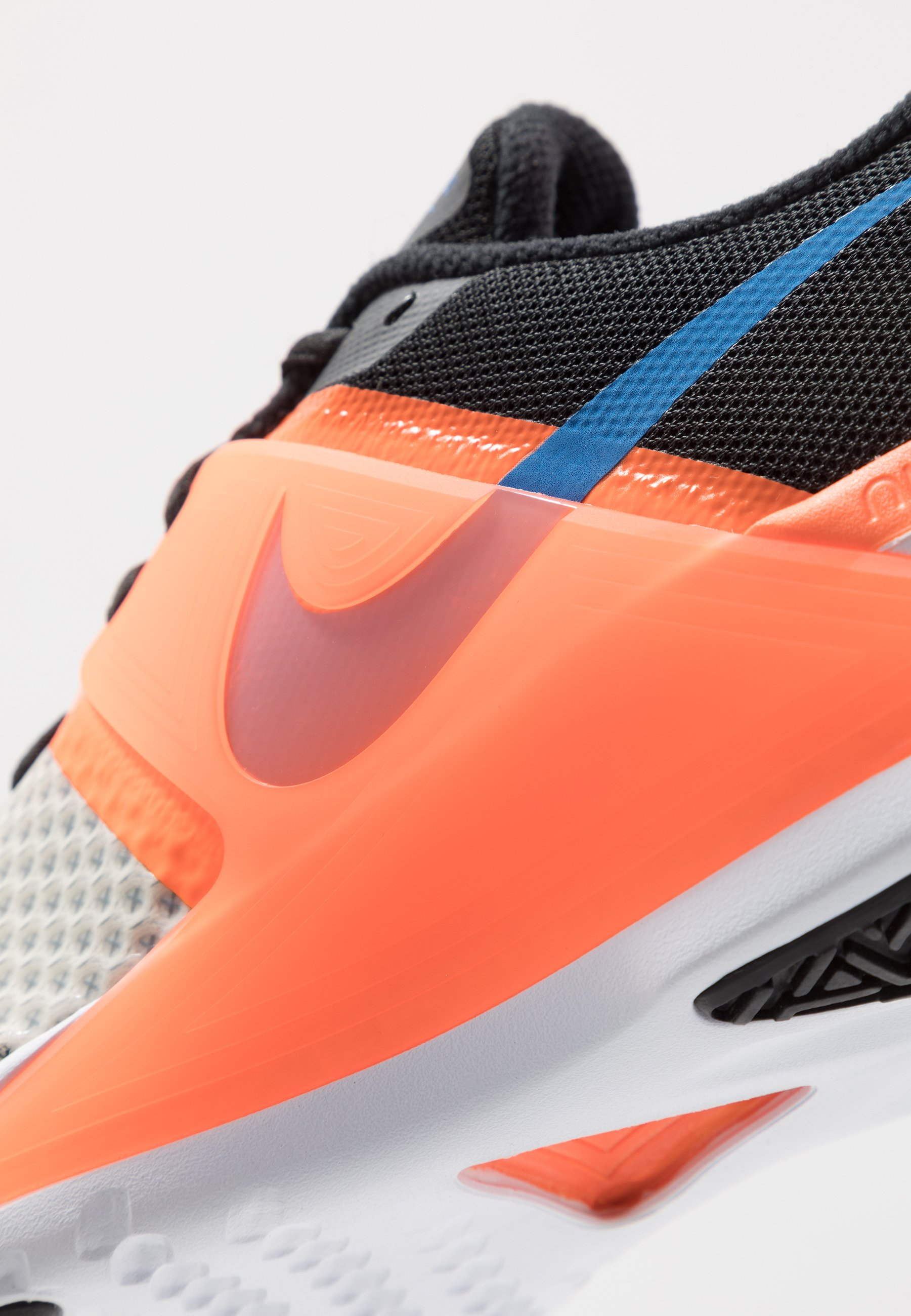 Nike Performance RENEW FUSION - Scarpe da fitness - pale ivory/soar/black/total orange
