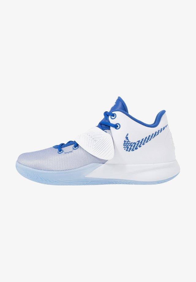 KYRIE FLYTRAP III - Basketballschuh - white/varsity royal/pure platinum