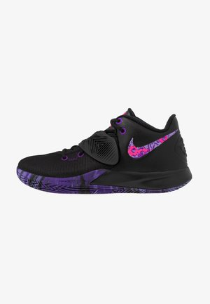 KYRIE FLYTRAP III - Obuwie do koszykówki - black/fierce purple/court purple