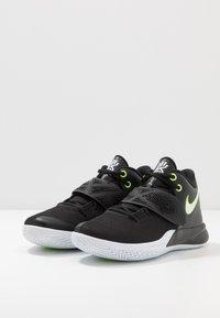 Nike Performance - KYRIE FLYTRAP III - Obuwie do koszykówki - black/white/volt - 2