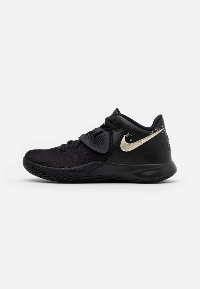 KYRIE FLYTRAP III - Indoorskor - black/metallic gold star