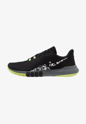 FLEX CONTROL 4 - Zapatillas de entrenamiento - black/smoke grey/ghost green/photon dust/sapphire