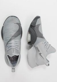 Nike Performance - AIR ZOOM SUPERREP - Sports shoes - smoke grey/dark smoke grey/black - 1