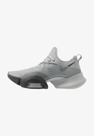 AIR ZOOM SUPERREP - Zapatillas de entrenamiento - smoke grey/dark smoke grey/black