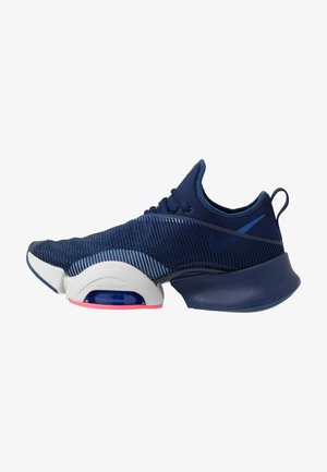 AIR ZOOM SUPERREP - Sports shoes - blue void/black/vast grey/voltage purple